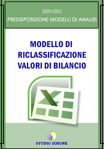 Modello di Riclassificazione valori di bilancio