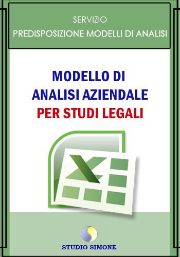 Modello di Analisi aziendale per Studi Legali
