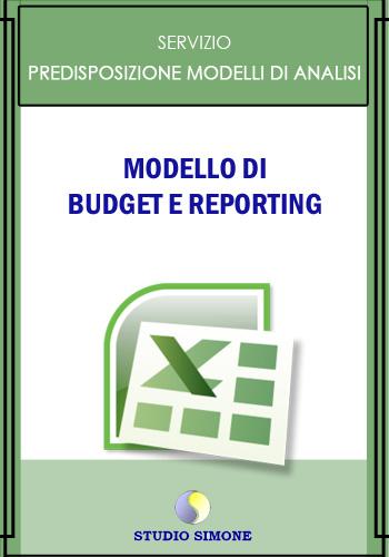 Modello di budget e reporting