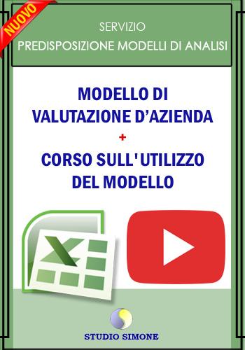 Modello di Valutazione d'azienda + Corso
