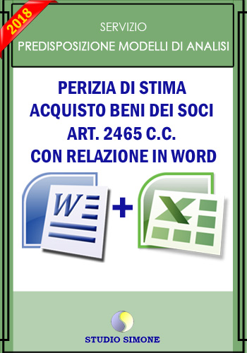Perizia di stima in word
