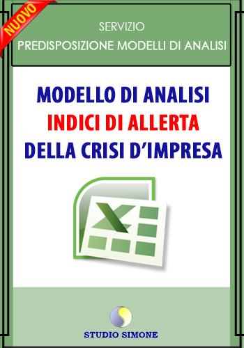 INDICI DI ALLERTA DELLA CRISI D'IMPRESA